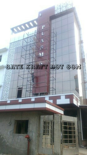 Front Elevation Acp Sheet : Acp front elevation manufacturers in delhi noida gurgaon