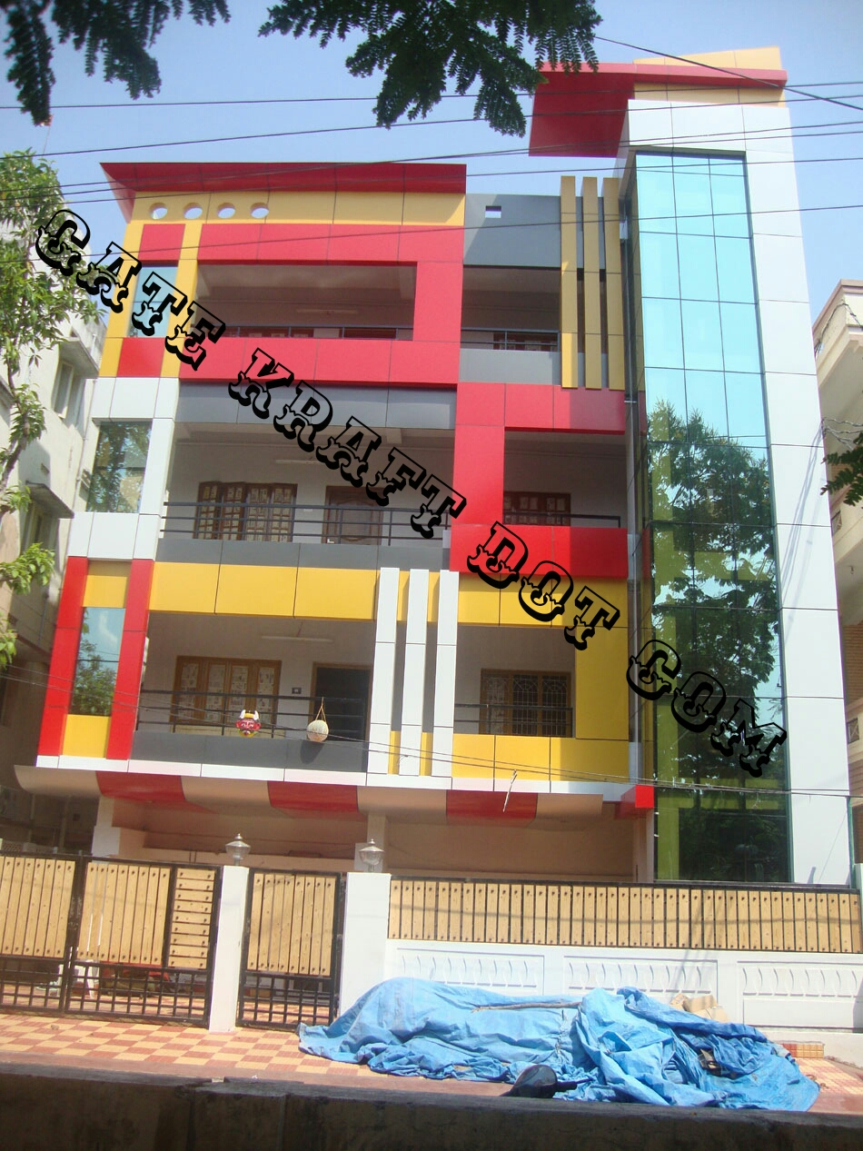 Front Elevation Acp Work : Acp front elevation manufacturers in delhi noida gurgaon
