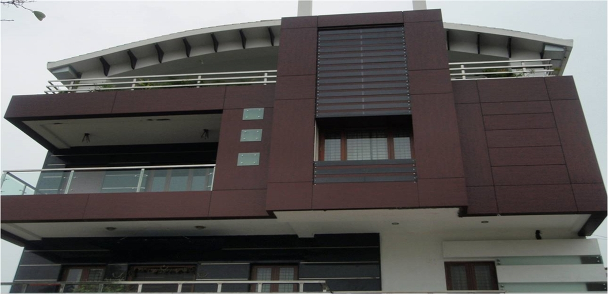 Front Elevation Railing Design : Acp front elevation manufacturers in delhi noida gurgaon